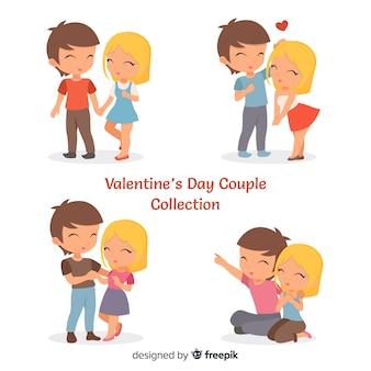 Collection de couple pour la saint valentin