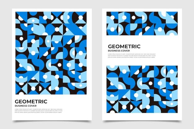 Collection de couvertures commerciales géométriques