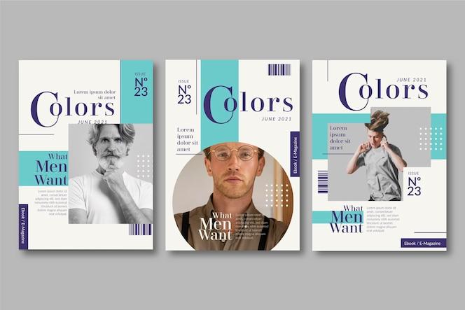 Collection de couvertures de magazines