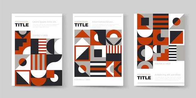 Collection de couvertures professionnelles postmodernes