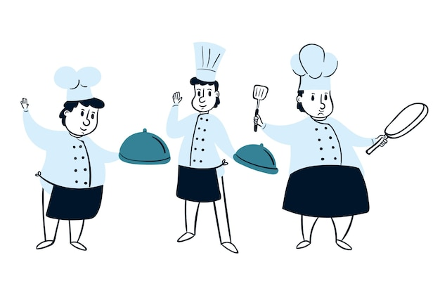 Collection de cuisiniers