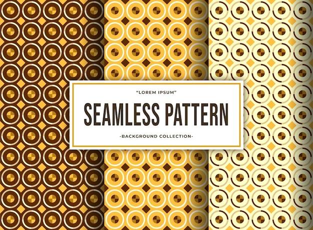Collection culturelle impressionnante de motifs géométriques sans soudure pour produit textile et arrière-plan