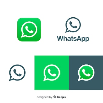 Collection d'icônes Whatsapp