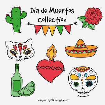 Collection day of the dead object