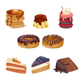 Collection de desserts
