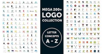 Collection de logos Mega