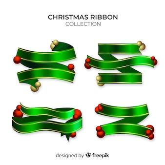 Collection de ruban de Noël