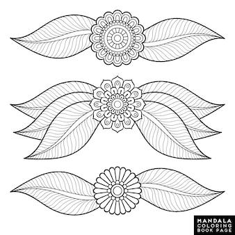 Collection de design floral