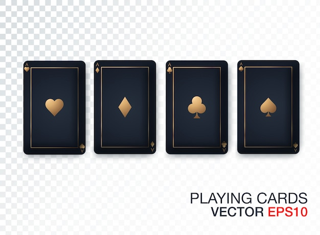 Collection de designs de cartes de casino