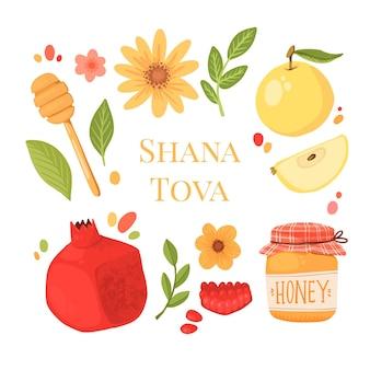 Collection de dessins shana tova