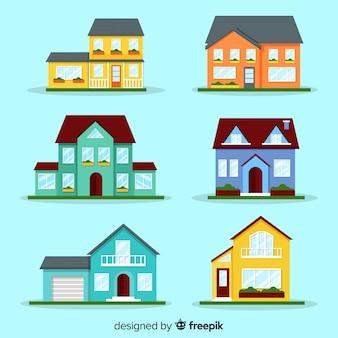 Collection de différentes maisons
