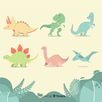 Collection de dinosaures