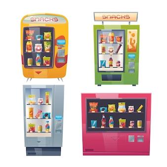 Collection de distributeurs automatiques de dessins animés