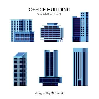 Collection de divers immeubles de bureaux