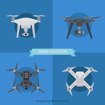 Collection drone avec style moderne
