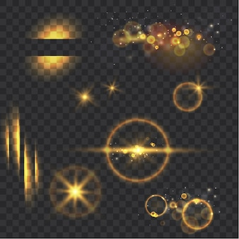 Collection d'effets de lumière