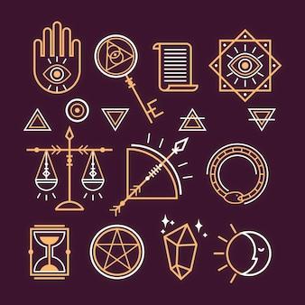 Collection d'éléments ésotériques