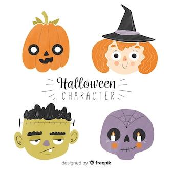 Collection d'éléments d'halloween