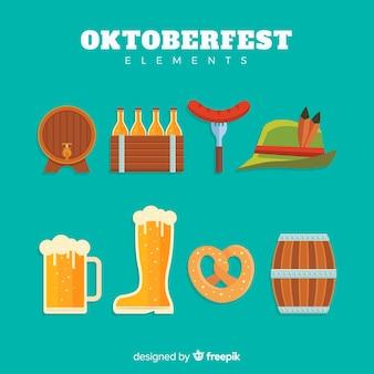 Collection d'éléments oktoberfest