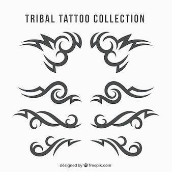 Collection ethnique de tatouage tribal