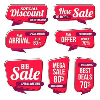 Collection d'étiquettes best sale