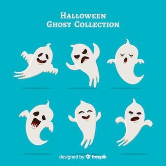 Collection de fantômes d'halloween