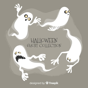 Collection de fantômes d'halloween