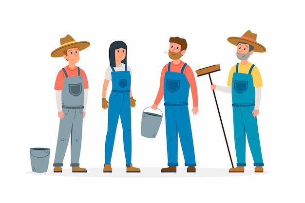 Collection fermier