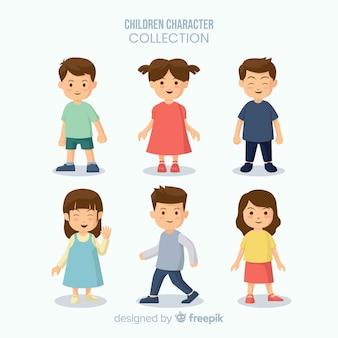 Collection de figurines du jour des enfants