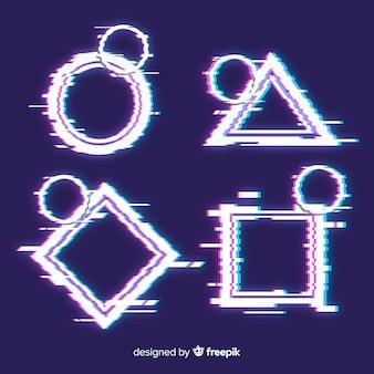 Collection de formes géométriques glith