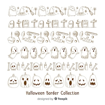 Collection frontière pour halloween