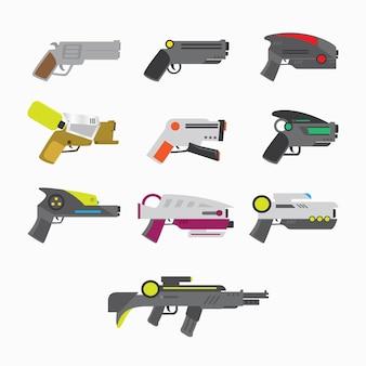 Collection de fusils