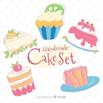 Collection de gâteaux