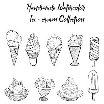 Collection de glaces