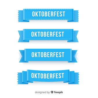 Collection de guirlandes d'oktoberfest
