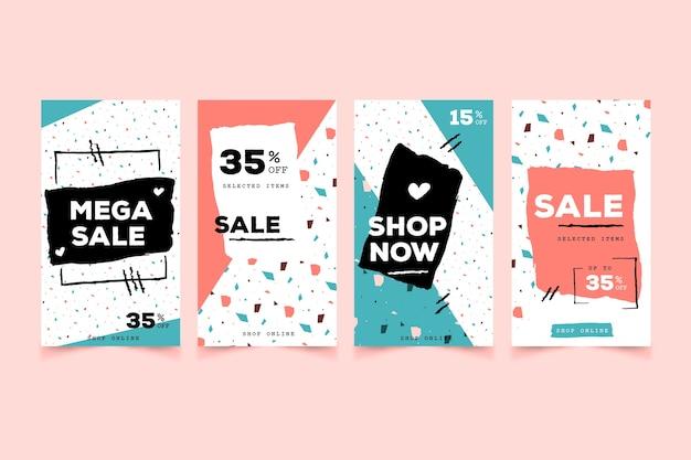 Collection d'histoires instagram à vendre