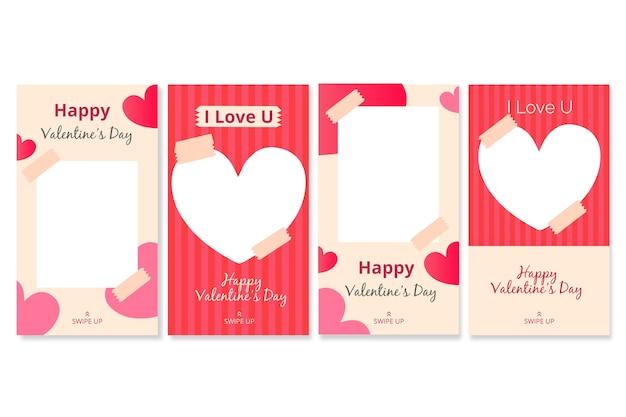 Collection d'histoires de la saint-valentin