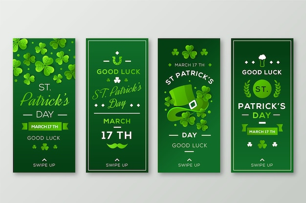 Collection d'histoires st patrick day