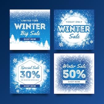 Collection hiver après vente instagram