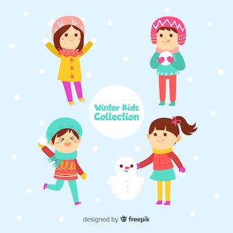 Collection d'hiver pour enfants
