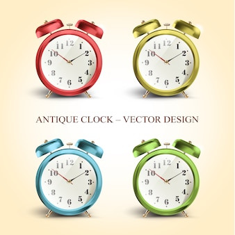 Collection d'horloge antique
