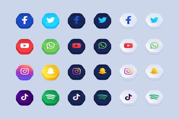 Collection d'icônes d'application