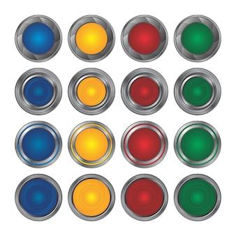 Collection d'icônes de boutons