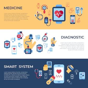 Collection d'icônes de capteur de santé