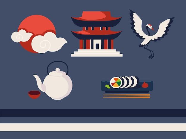 Collection d'icônes coréenne
