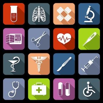 Collection d'icônes médicales