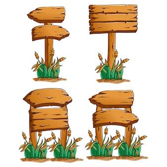Collection d'icônes de noël ou d'éléments avec style de doodle