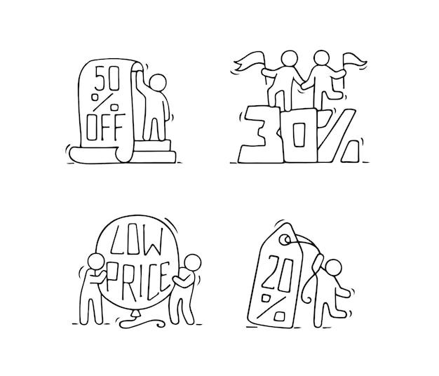 Collection d'icônes de vente