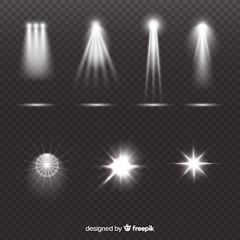 Collection d'illumination de scènes réalistes