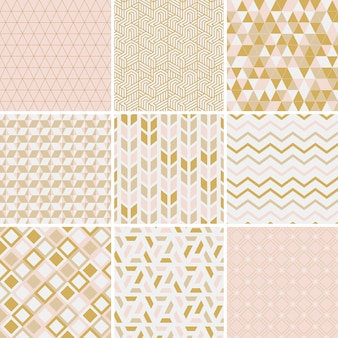 Collection d'illustration vectorielle de motifs